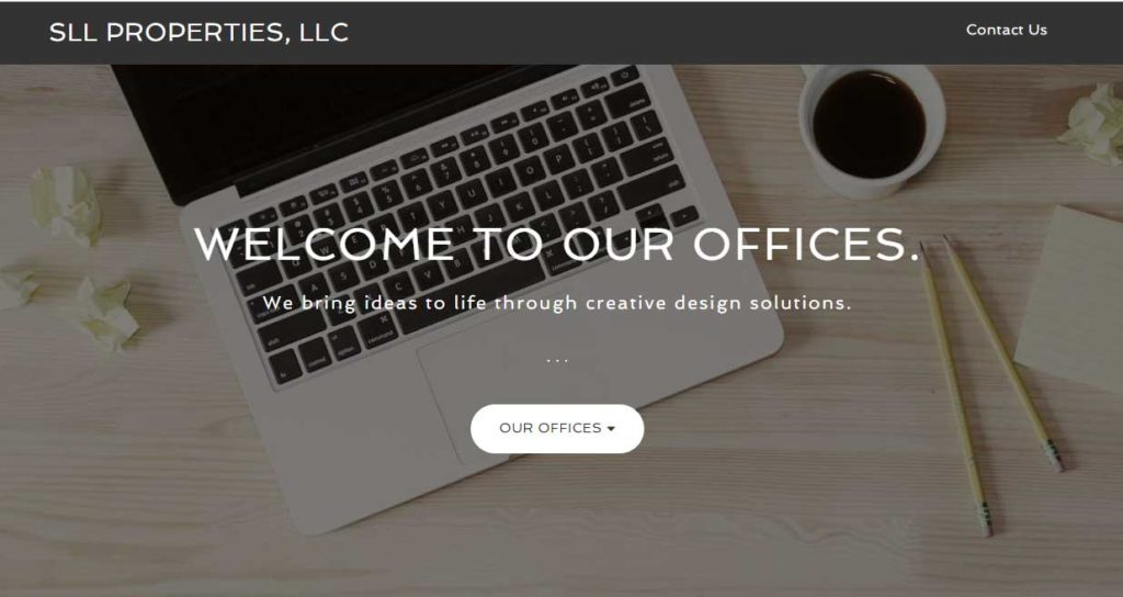 Featured Website - What we Do page